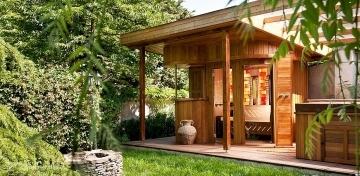 au ensauna luxus saunahaus finnische exterieur sauna garten wellness saunahaus bau. Black Bedroom Furniture Sets. Home Design Ideas